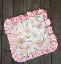 Rockin Royalty Sweet Blossom Lovie Blanket