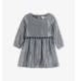 Hatley Metallic Silver Party Dress