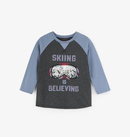 Hatley Skiing is Believing Raglan Tee