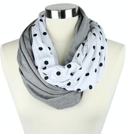 Itzy Ritzy Nursing Scarf Polka Dot Party
