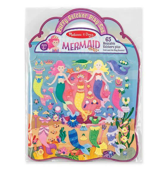 Melissa & Doug Puffy Sticker Playset - Mermaid