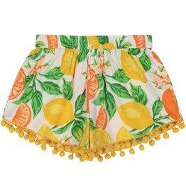 Masala Baby Pom Pom Shorts Citrus Blossom Multi
