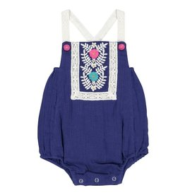 Masala Baby Beach One Piece Royal Blue