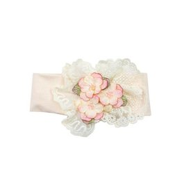 Haute Baby Peach Blush Infant Headband