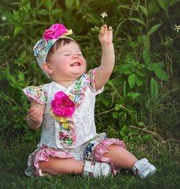Haute Baby Floral Fantasy Criss Cross Set