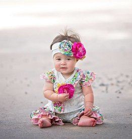 Haute Baby Floral Fantasy Headband INFANT
