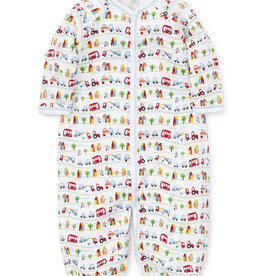 Kissy Kissy Traffic Print Converter Gown Small (3M)