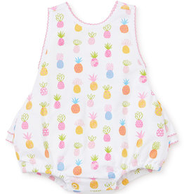 Kissy Kissy Pineapples Print Bubble