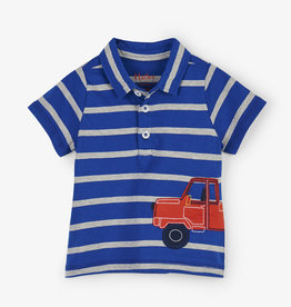 Hatley Pick Up Truck Baby Polo Tee