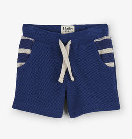 Hatley Nautical Blue Baby Shorts