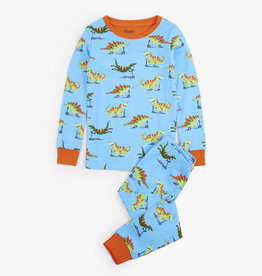 Hatley Scooting Dinos Organic Cotton Pajama Set