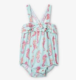 2fbf90ba3dc3e Hatley Fantastical Seahorses Baby Ruffle Swimsuit