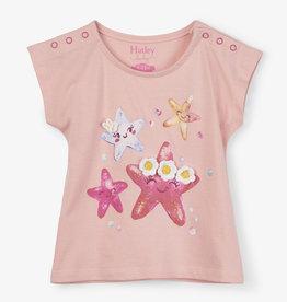 Hatley Cheerful Starfish Baby Tee