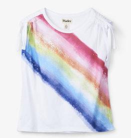 Hatley Rainbow Clinched Shoulder Tee