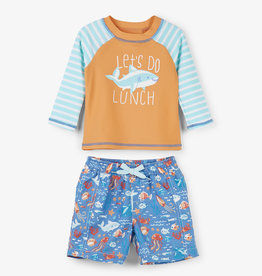 Hatley Ocean Animals Baby Rashguard Set