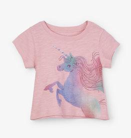 Hatley Rainbow Unicorn Baby Tee