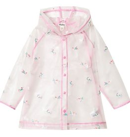 Hatley Rainbow Unicorns Clear Swing Raincoat