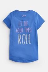 Joules Astra Shirt Blue Rollerskates