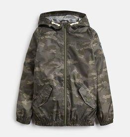 Joules Rowan Rain Jacket Khaki Camo