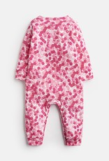 Joules Gracie Coverall Pink Spot Cat