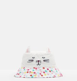 Joules Hattie G Hat White Cat