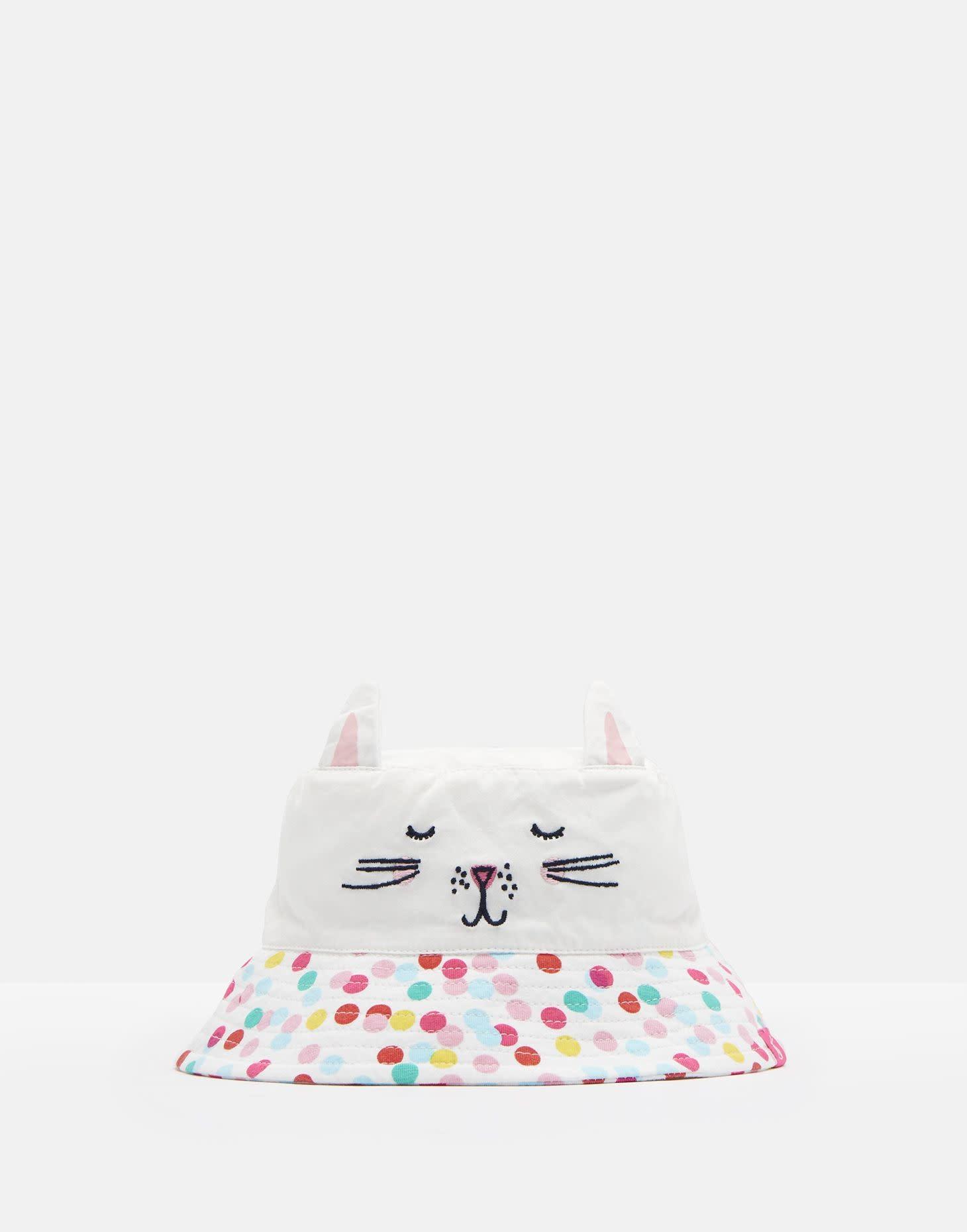 Joules Hattie G Hat White Cat