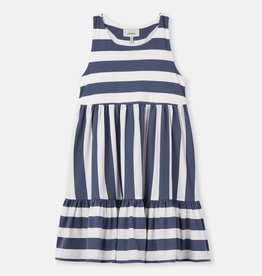 Joules Juno Dress Cream Blue Stripe