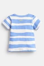 Joules Ben Shirt Blue Shark Stripe
