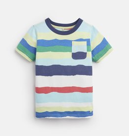 Joules Caspian Shirt Multi Color Paper Stripe