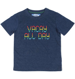 Kapital K Vacay All Day Tee Capri Blue