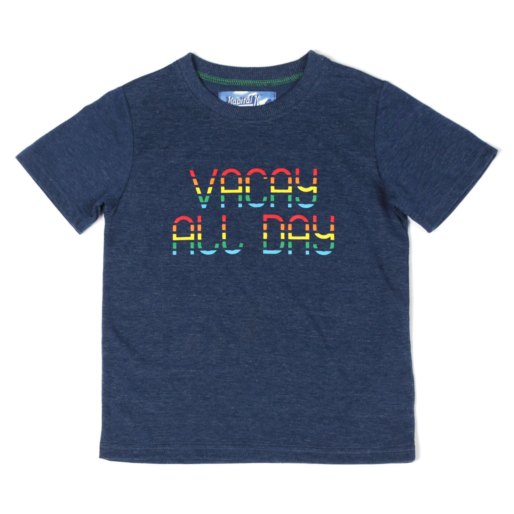 Kapital K Vacay All Day Tee Capri Blue