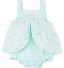 Kissy Kissy Summer Cheer Print Bubble Mint