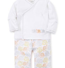 Kissy Kissy Elephant Ears Pant Set Grey