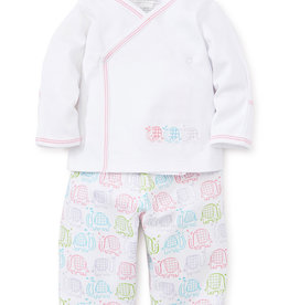 Kissy Kissy Elephant Ears Pant Set Pink