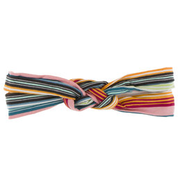 Kickee Pants Print Knot Headband Cancun Strawberry Stripe