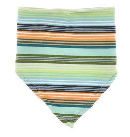 Kickee Pants Print Bandana Bib Cancun Glass Stripe