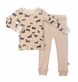 Kickee Pants Wild Horses Pajamas