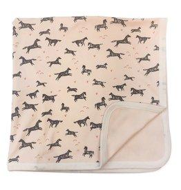 Finn + Emma Wild Horses Blanket