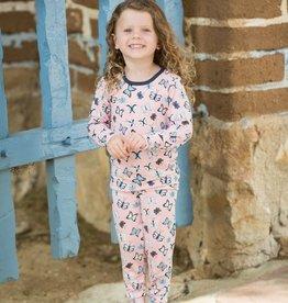 Bestaroo Pajama Set Pink Butterflies