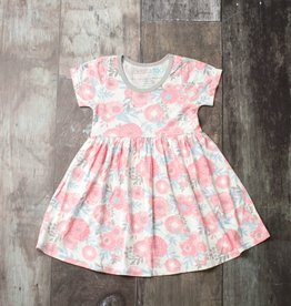 Bestaroo Pink Floral Dress