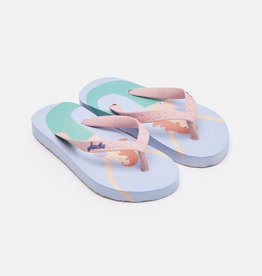 Joules Flip Flop Blue Mermaid