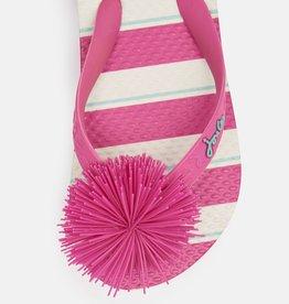 Joules Flip Flop Pink Stripe