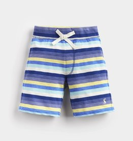 Joules Bucaneer Short Blue Yellow Stripe