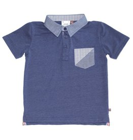 Fore!! Axel & Hudson SS Milk Jersey Polo Navy