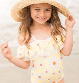 Isobella & Chloe Yellow Daisy Delight Swimsuit