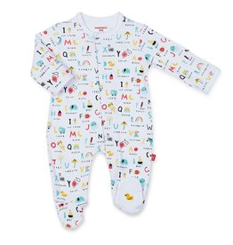 Magnificent Baby ABC Love Magnetic Footie