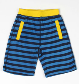 Kapital K Cobalt Blue Stripe Pull-On Short