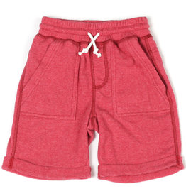Kapital K Watermelon Terry Cloth Roll-Up Pull-On Short