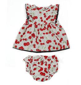 Kapital K Sweet Cherry 2PC Set Dress & Panty