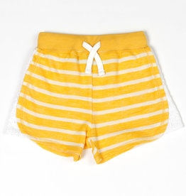 Kapital K Sunny Stripe French Terry Pull-On Short